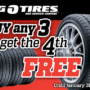 Buy 3 – Get the 4th FREE